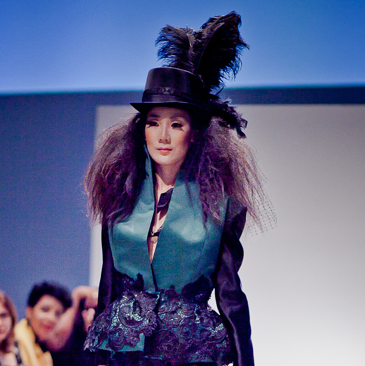 Houston, Fashion Fusion, June 2015, model