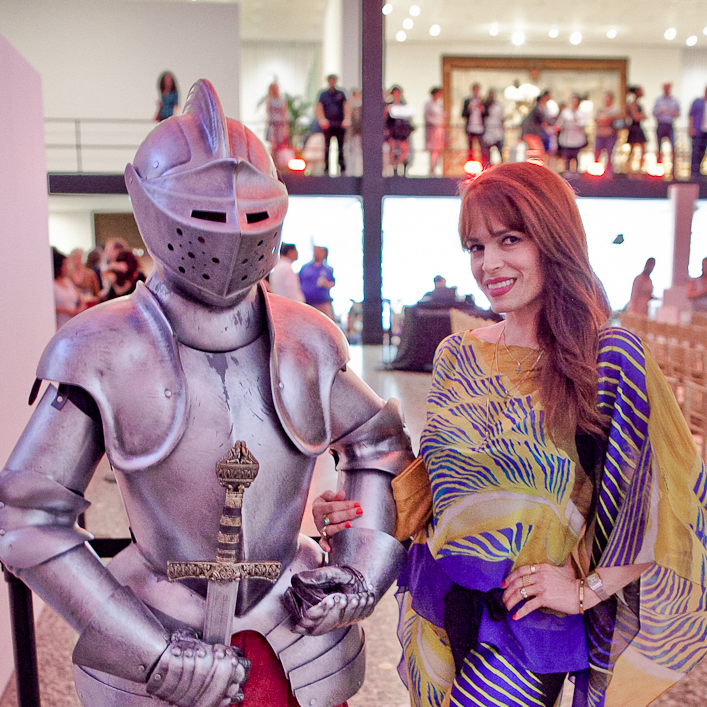 Houston, Fashion Fusion, June 2015, Max The Knight and Karina Barbieri