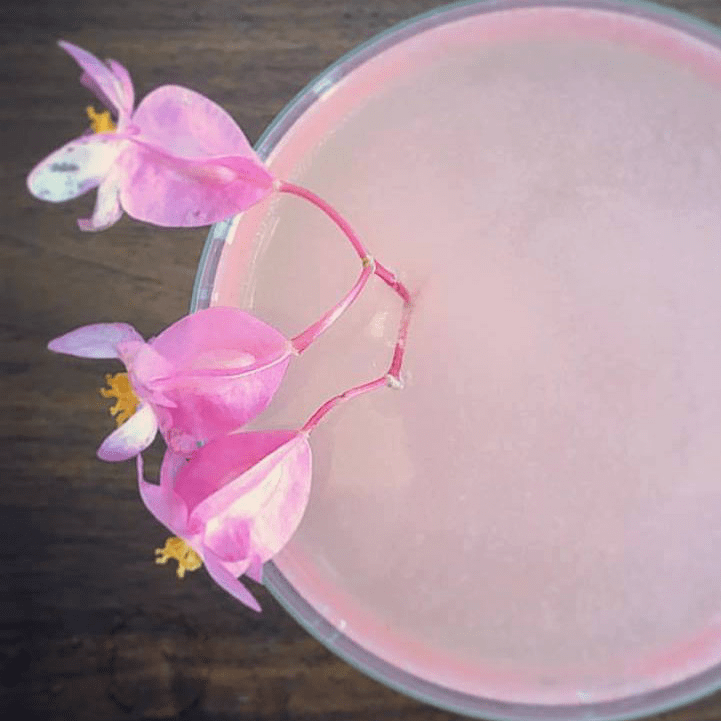 The Flora cocktail