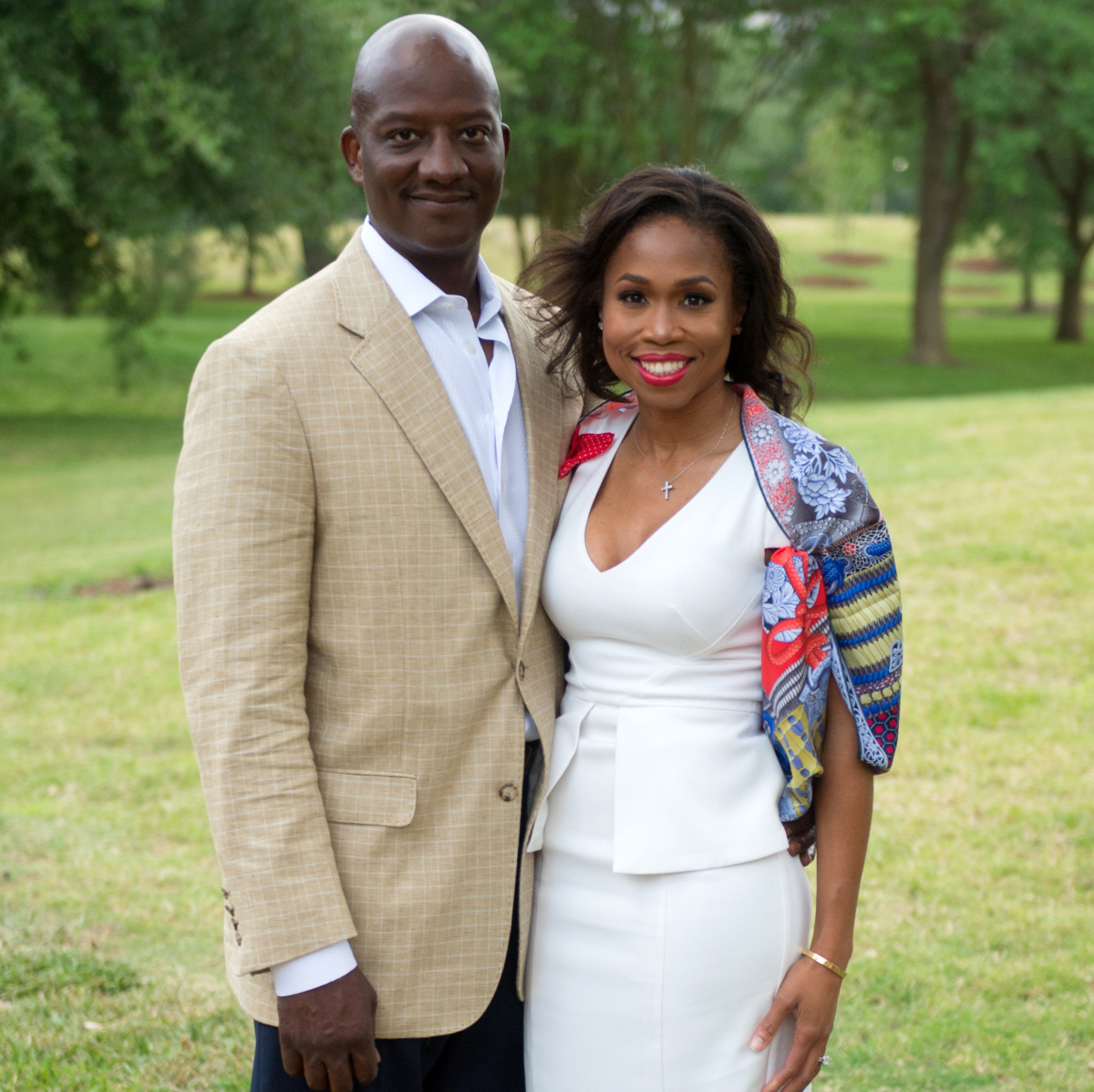 Houston, Hermann Park's  Evening in the Park 2017, May 2017, Derrick Mitchell, Roslyn Mitchell