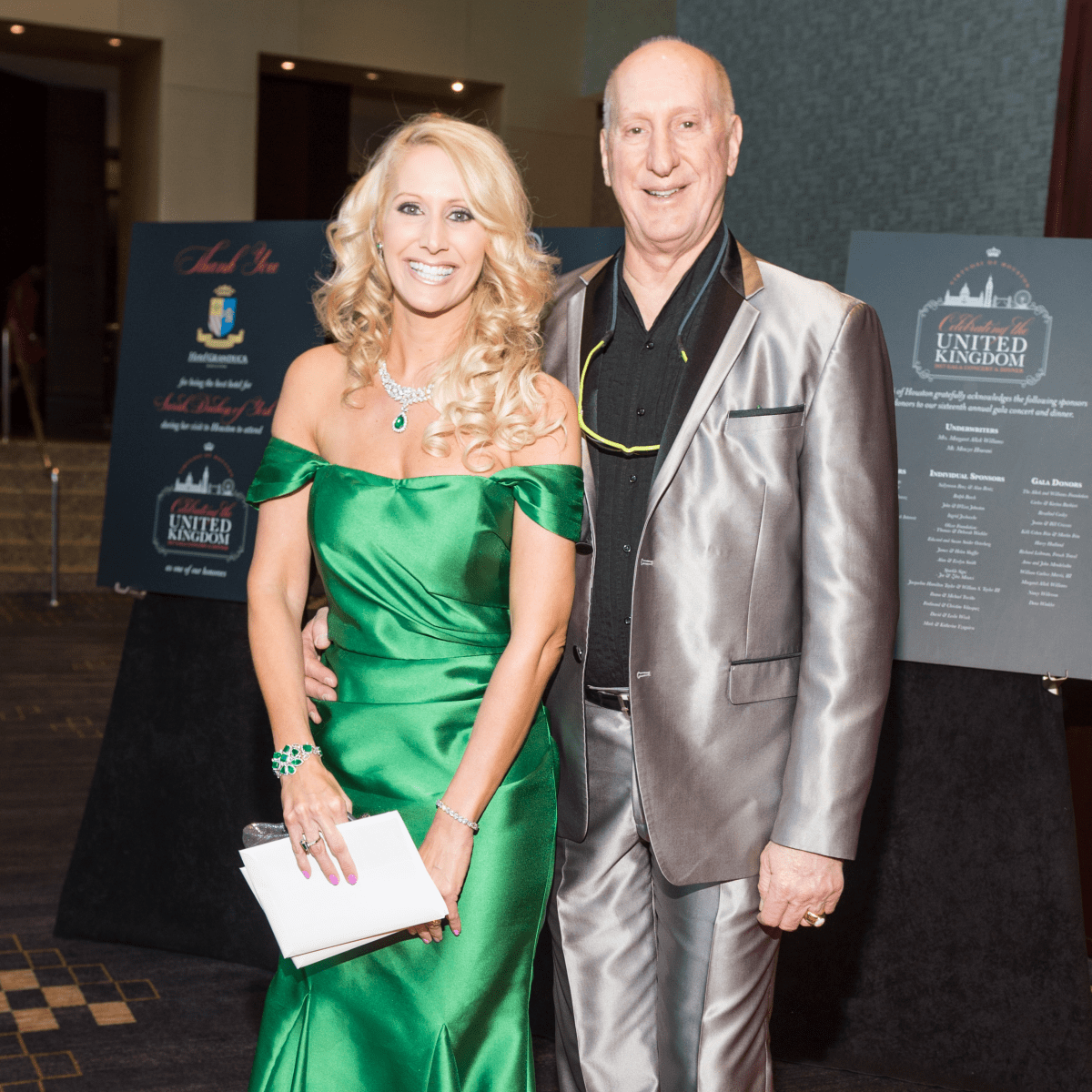Virtuosi Gala, Laurie and Tracy Krohn