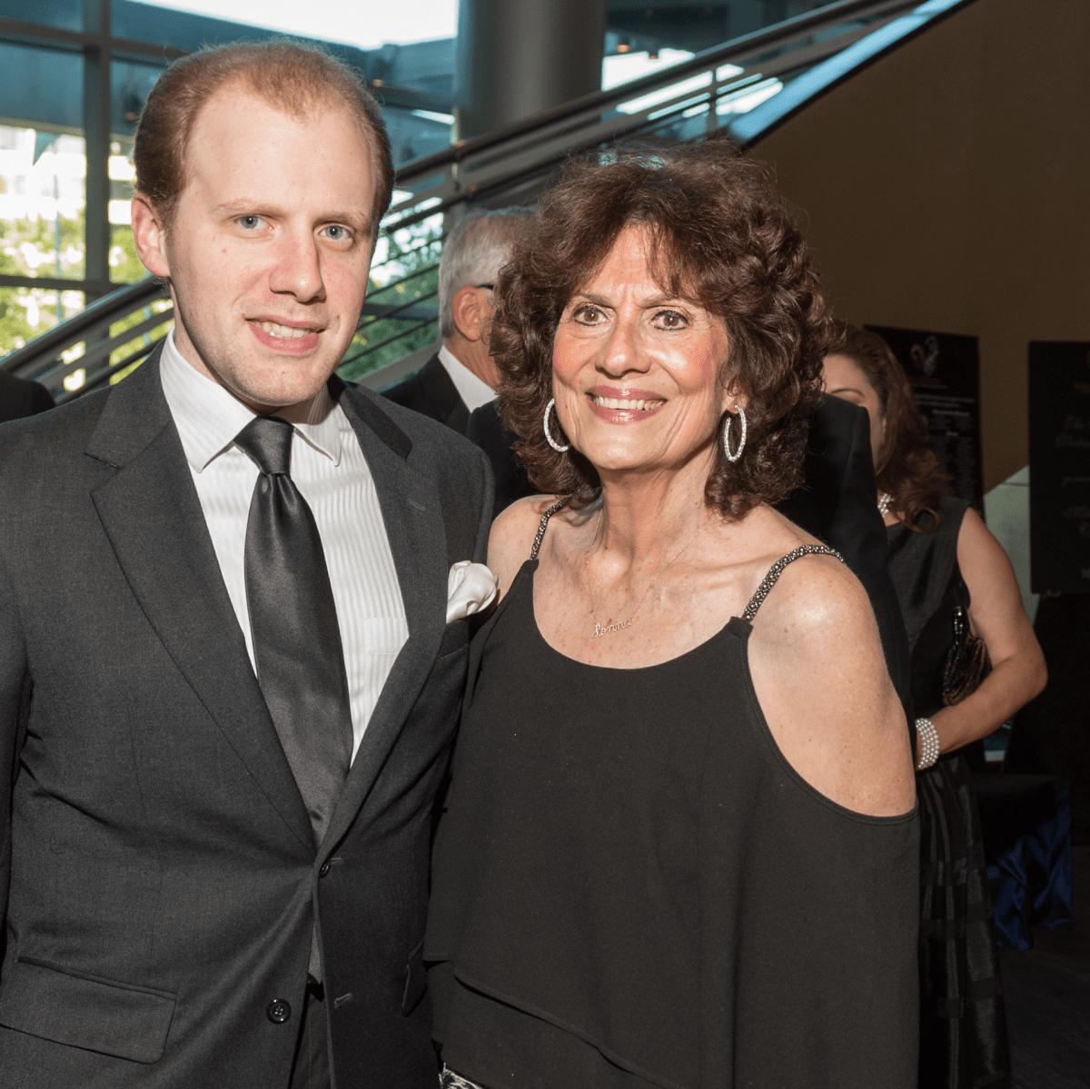 Anthony Vallone, Donna Vallone at Virtuosi Gala