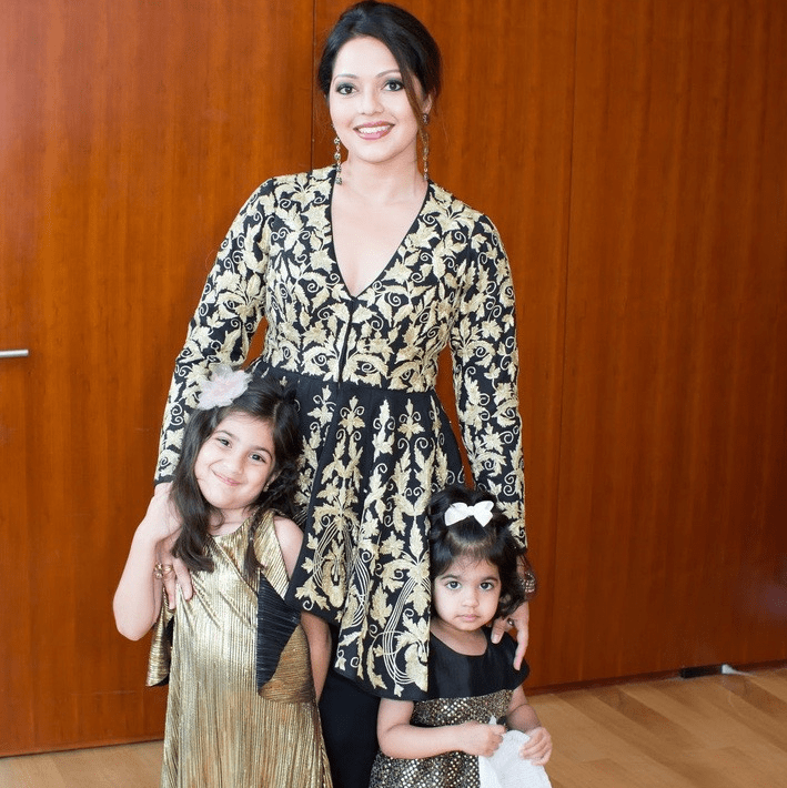 Rekha Muddaraj, Laxmi and Lara at International Mothers Day Soiree