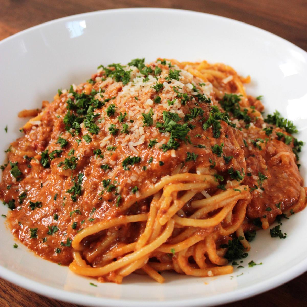 Juliet Italian Kitchen spaghetti bolognese