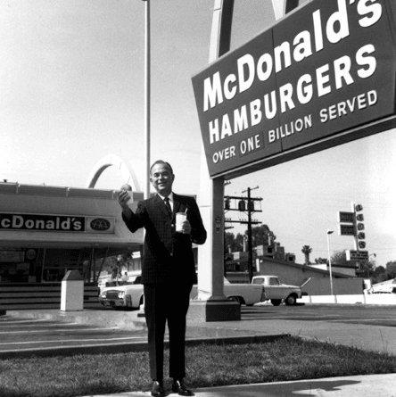 Houston, McDonald's Experience of the Future in Katy, June 2017, McDonalds founder Ray Kroc