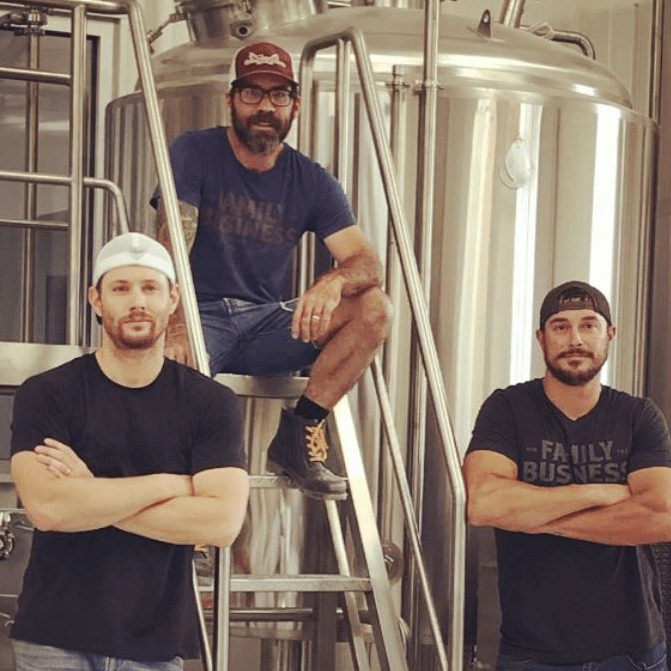 Family Business Beer Company Jensen Ackles