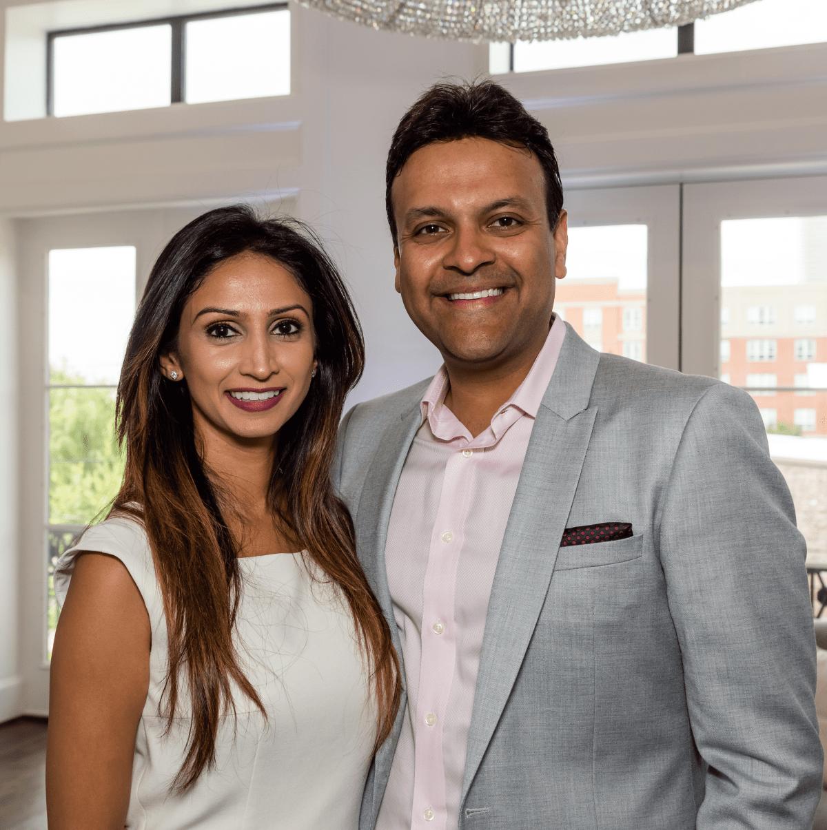 Houston, Carnegie Homes event, July 2017, Sapna Patel Gupta, Arpan Gupta
