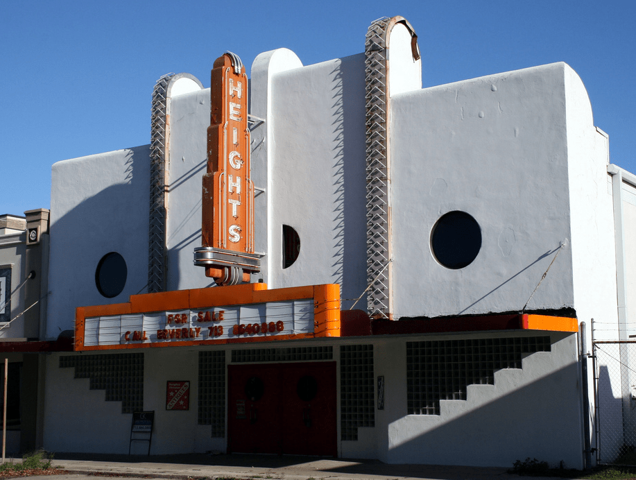 Houston, Heights Theatre, August 2017