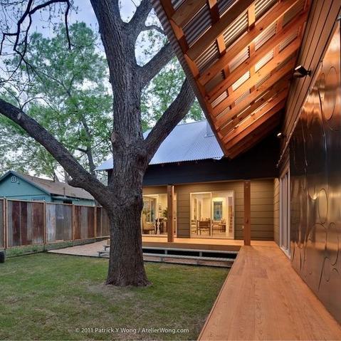 Austin home house Houzz energy effecient Bouldin Creek