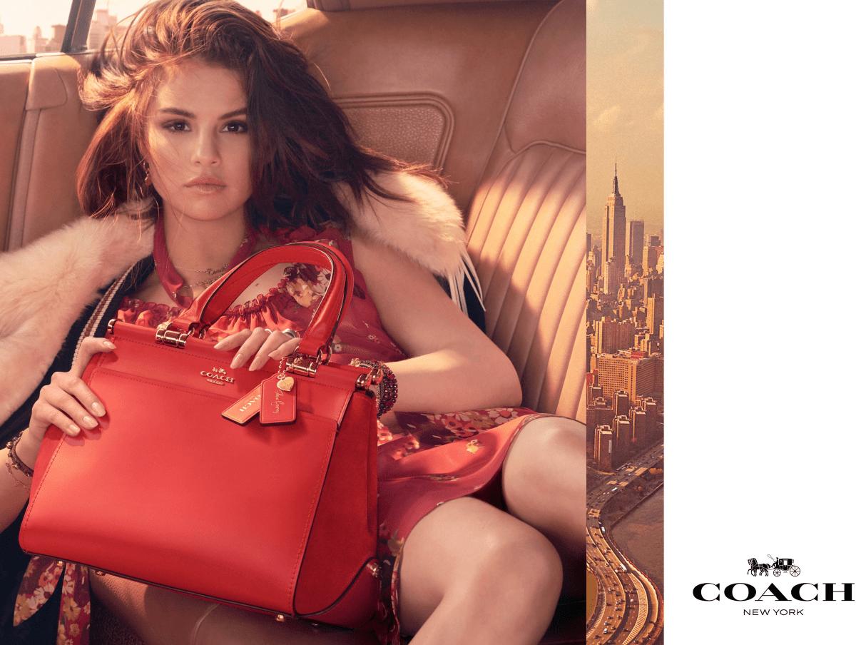 Coach by Selena Gomez handbag