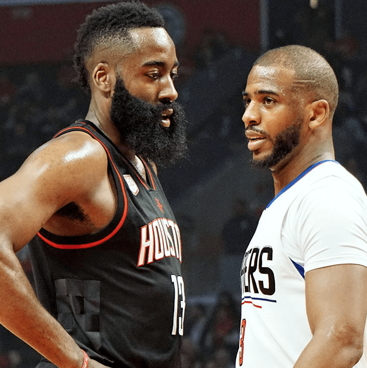 Houston, Houston Rockets, James Harden and Chris Paul, August 2017