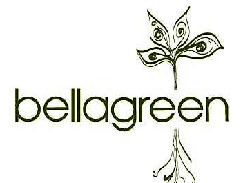 Houston, Bellagreen restaurant logo, August 2017