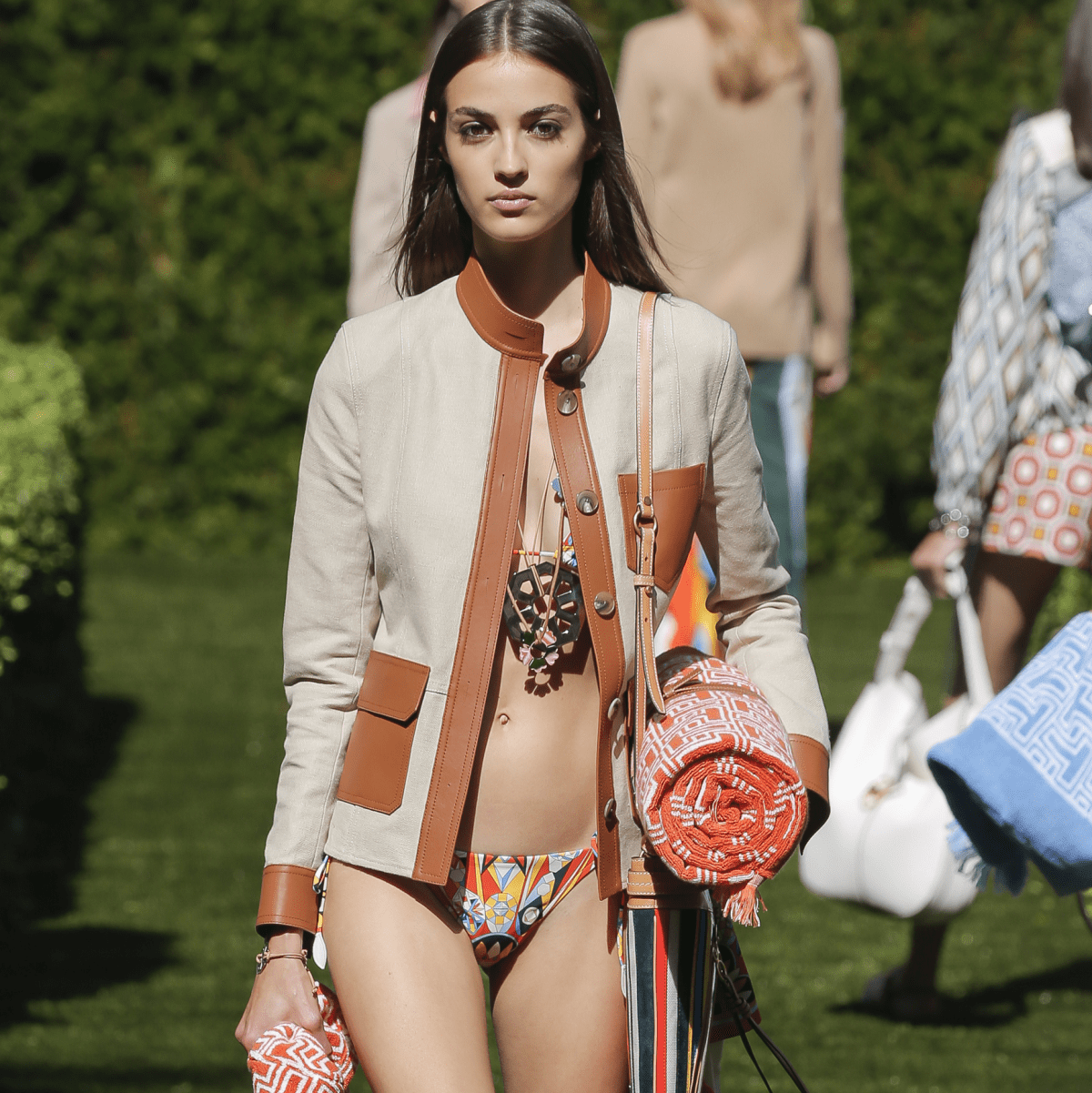 Tory Burch spring 2018 look 42