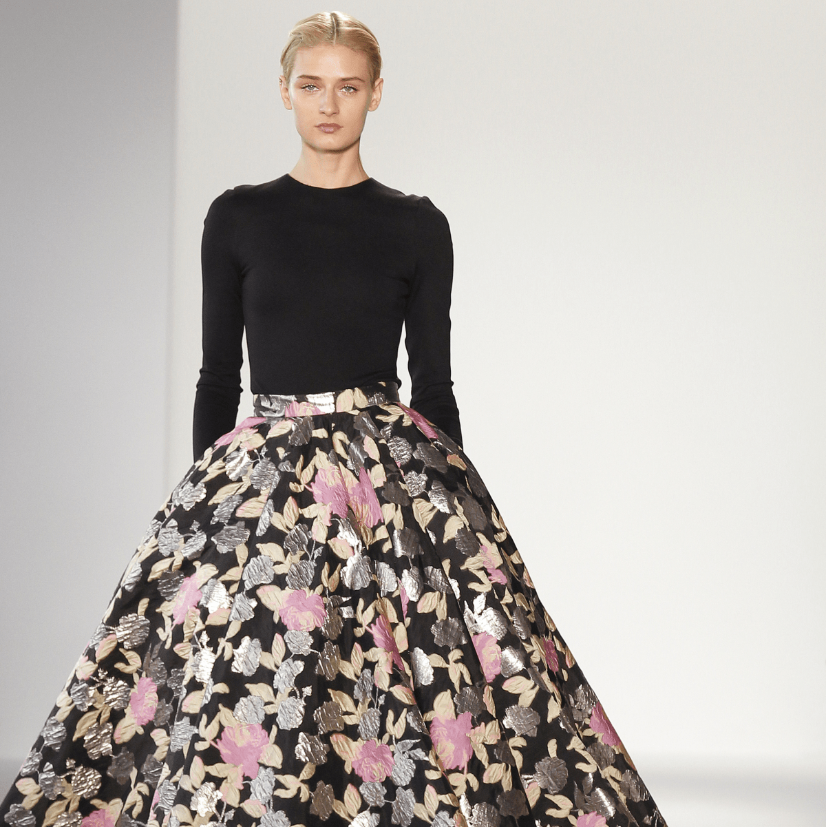 Christian Siriano look 24 spring 2018