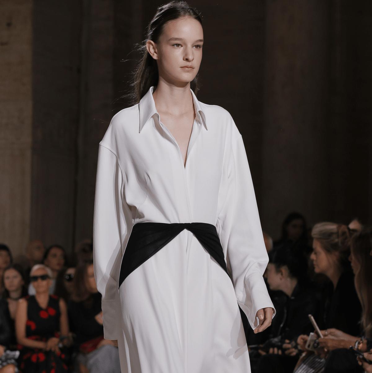 Victoria Beckham look 32 spring 2018