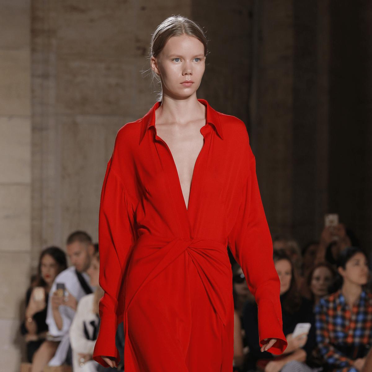 Victoria Beckham look 14 spring 2018