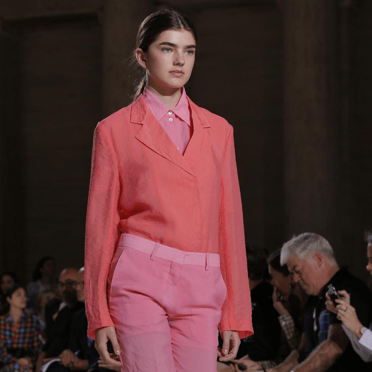 Victoria Beckham look 21 spring 2018
