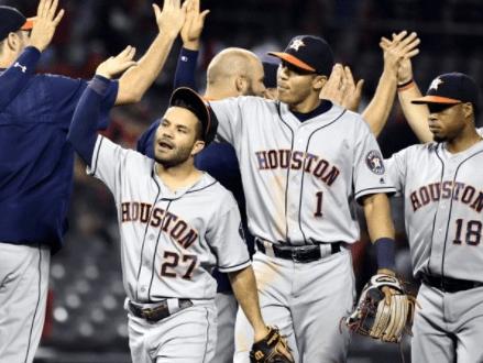 Houston Astros, September 2017