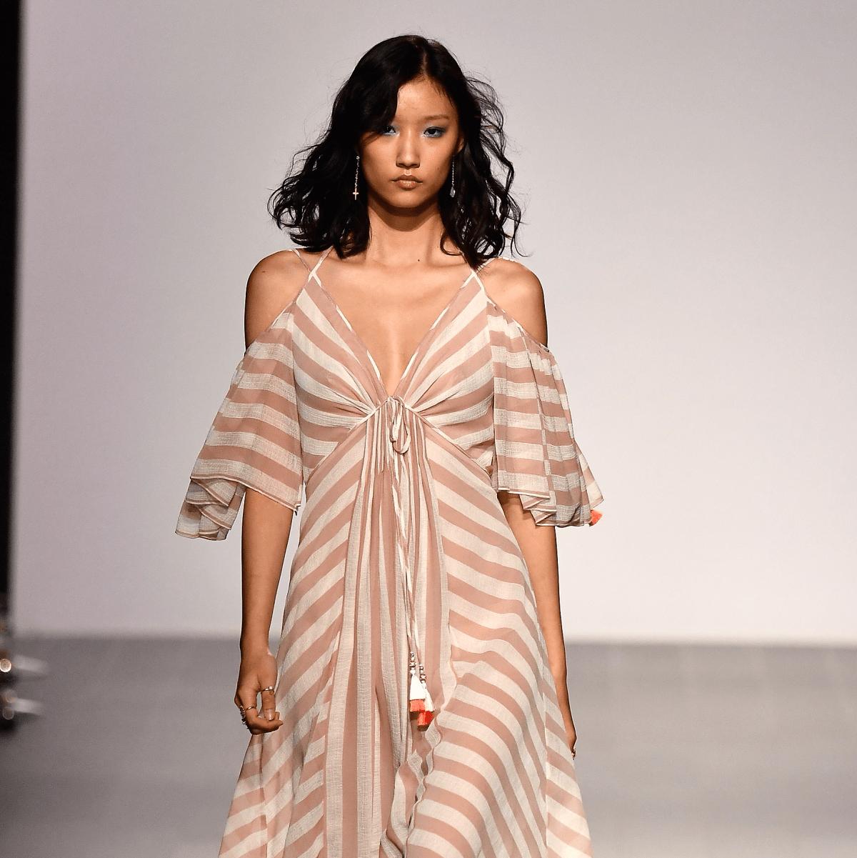 Tadashi Shoji look 5 spring 2018