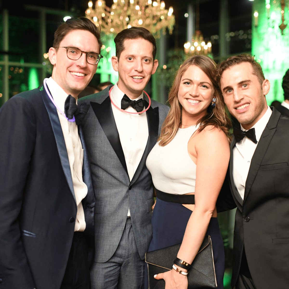 Houston, Jungle Book Gala, Sept. 2017, Nick Lovitt, Fidel Garza, Madeline Matthews, Michael Mandola