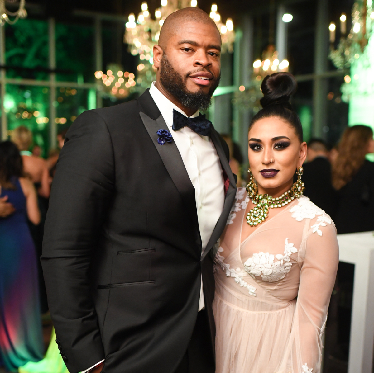 Houston, Jungle Book Gala, Sept. 2017, Wade Smith, Neera Patidar
