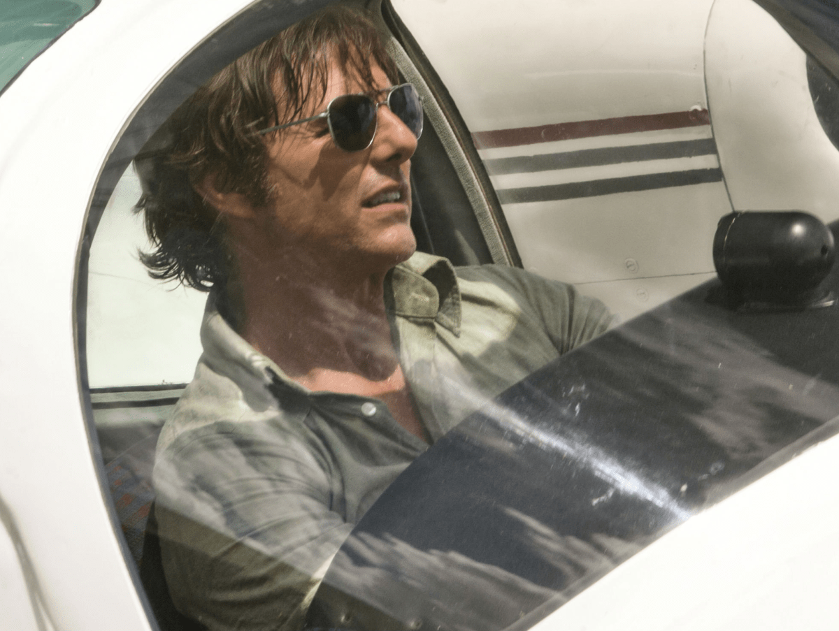 Tom Cruise in American Made