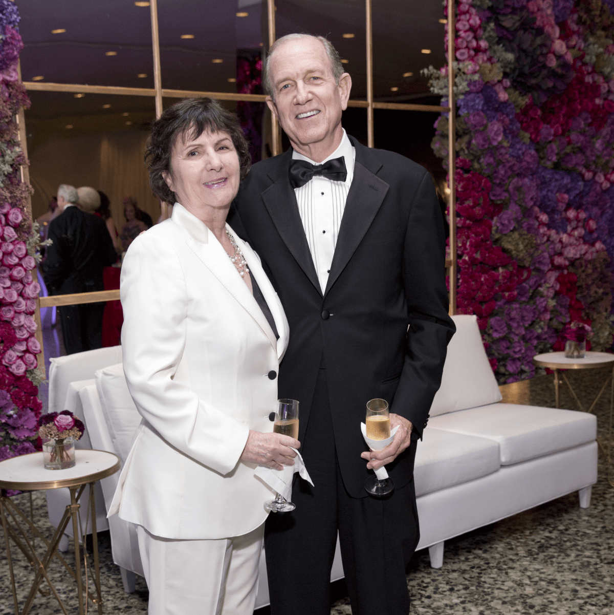 Leslie and Brad Bucher at MFAH Grand Gala Ball