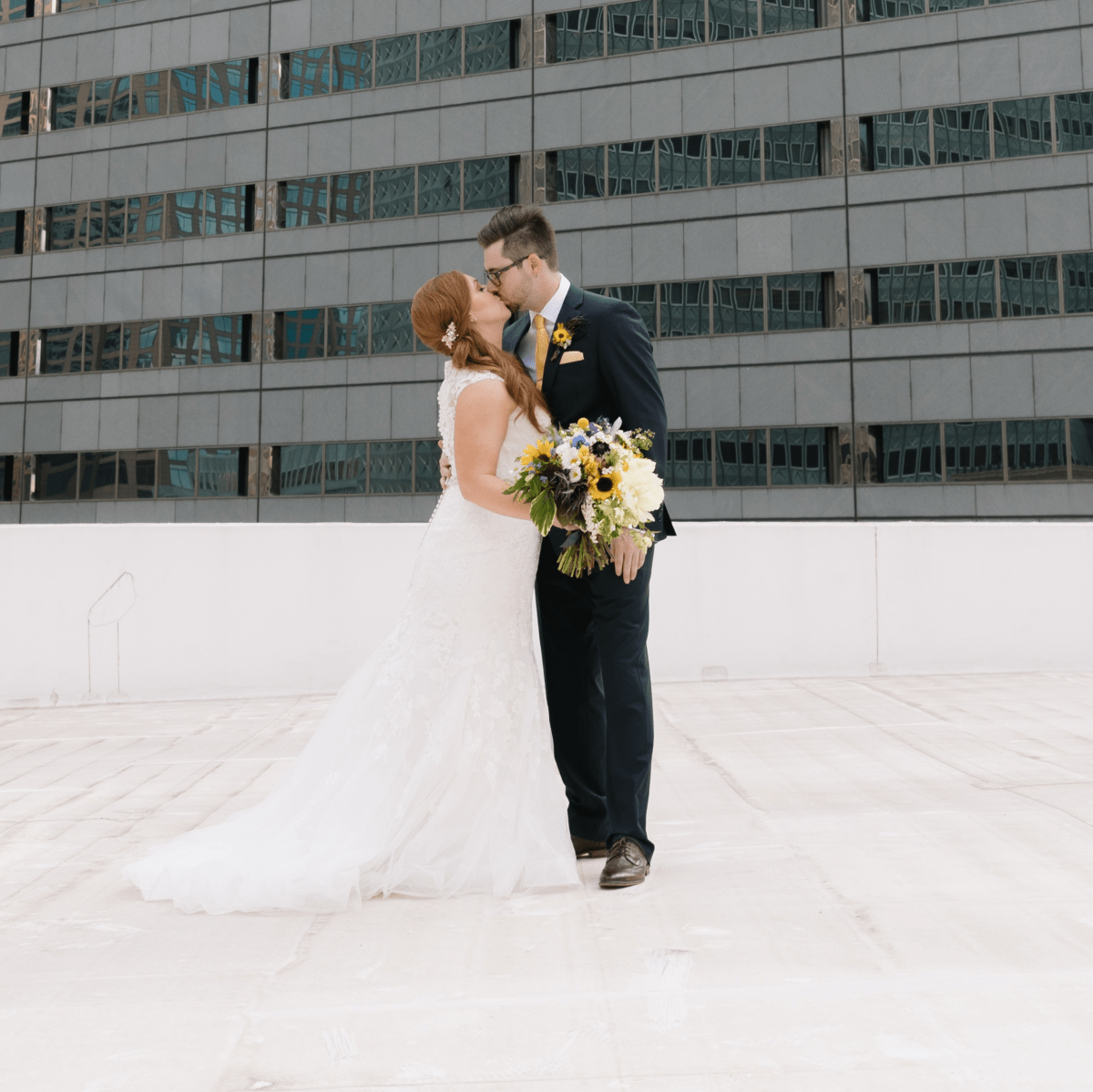 Collins Wedding, Rooftop