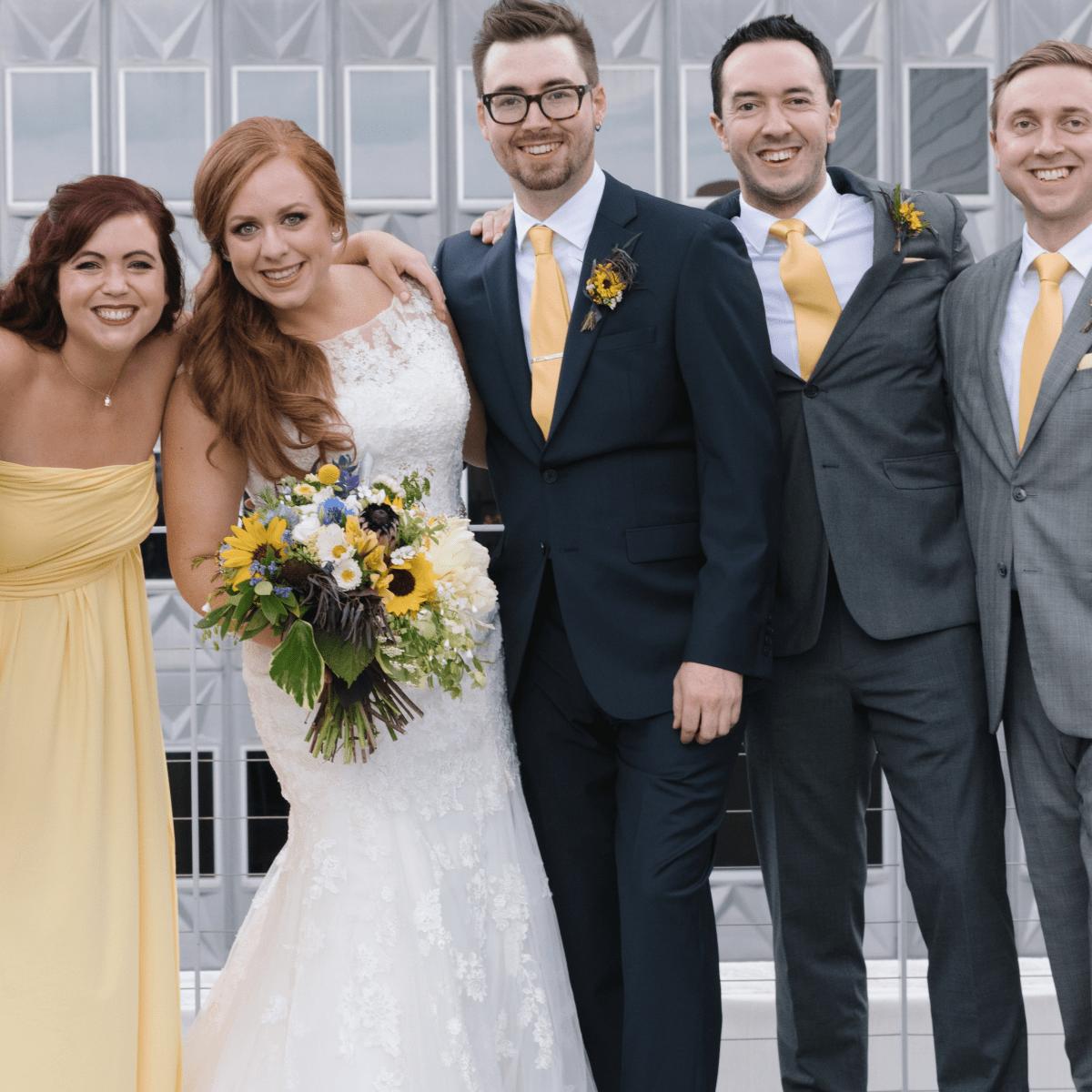 Collins Wedding, Wedding Party