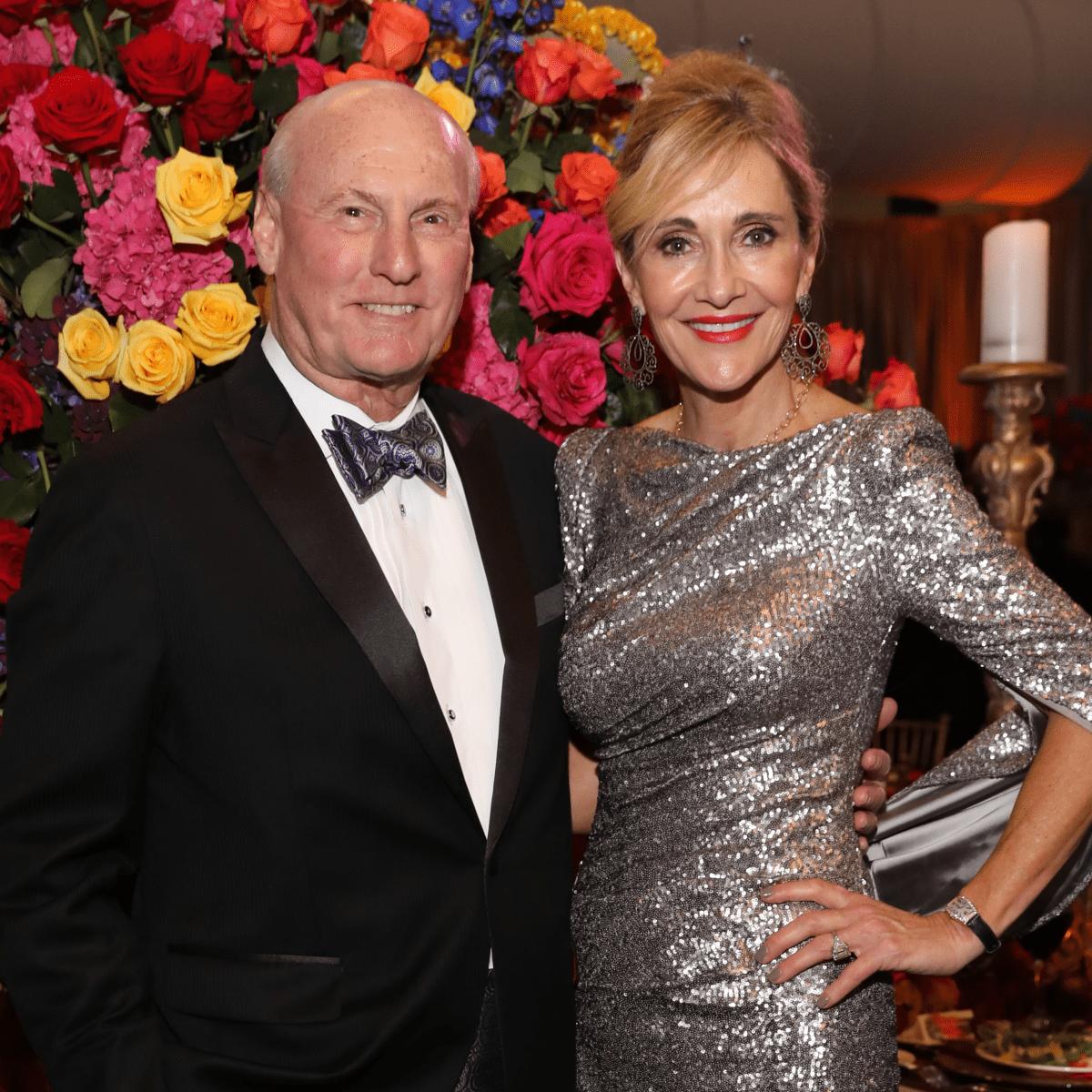 Jana and Scotty Arnoldy at Houston Grand Opera opening night 2017