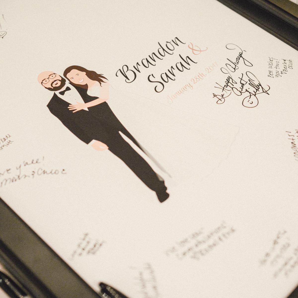 Beville Wedding, Sign