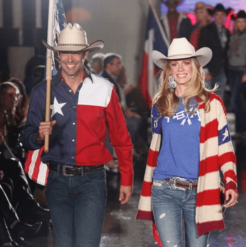 Salute Houston fashion show western wear from Cavender's Boot City