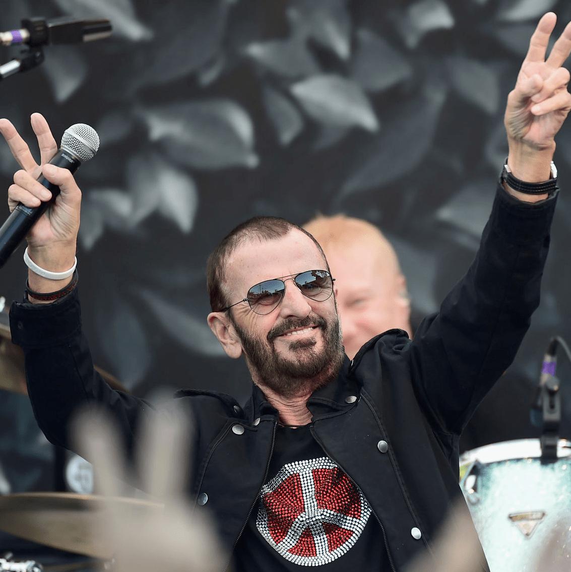 Ringo Starr at the International Peace Day celebration at John Varvatos store in California