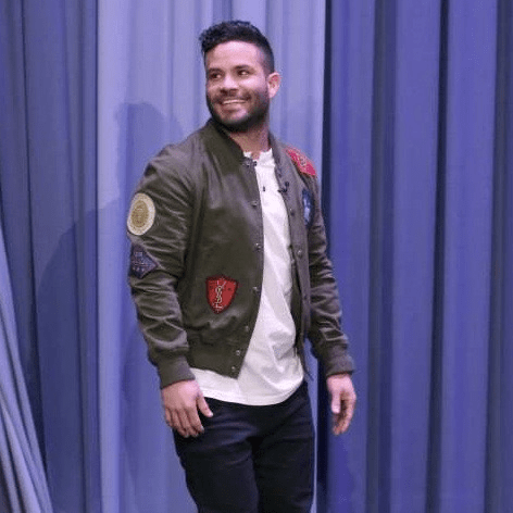 Jose Altuve on Tonight Show with Jimmy Fallon