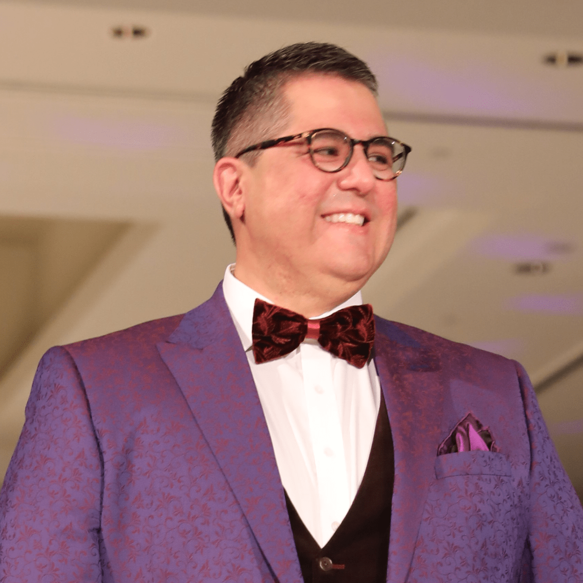 Dr. Dr. Roland Maldonado at Festari Gala