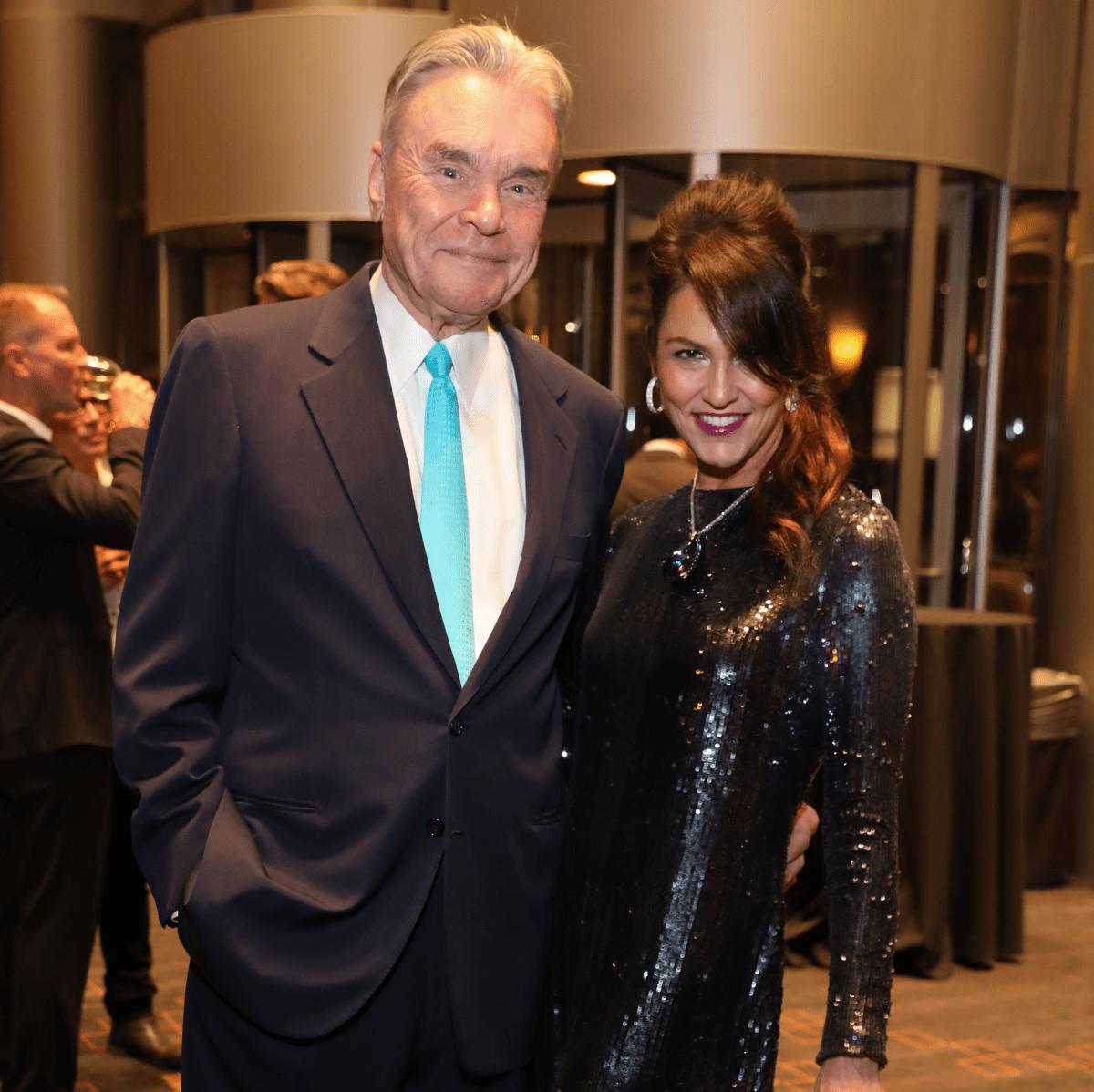 Jessica Rossman, Gordon Bethune at Una Notte de Italia gala