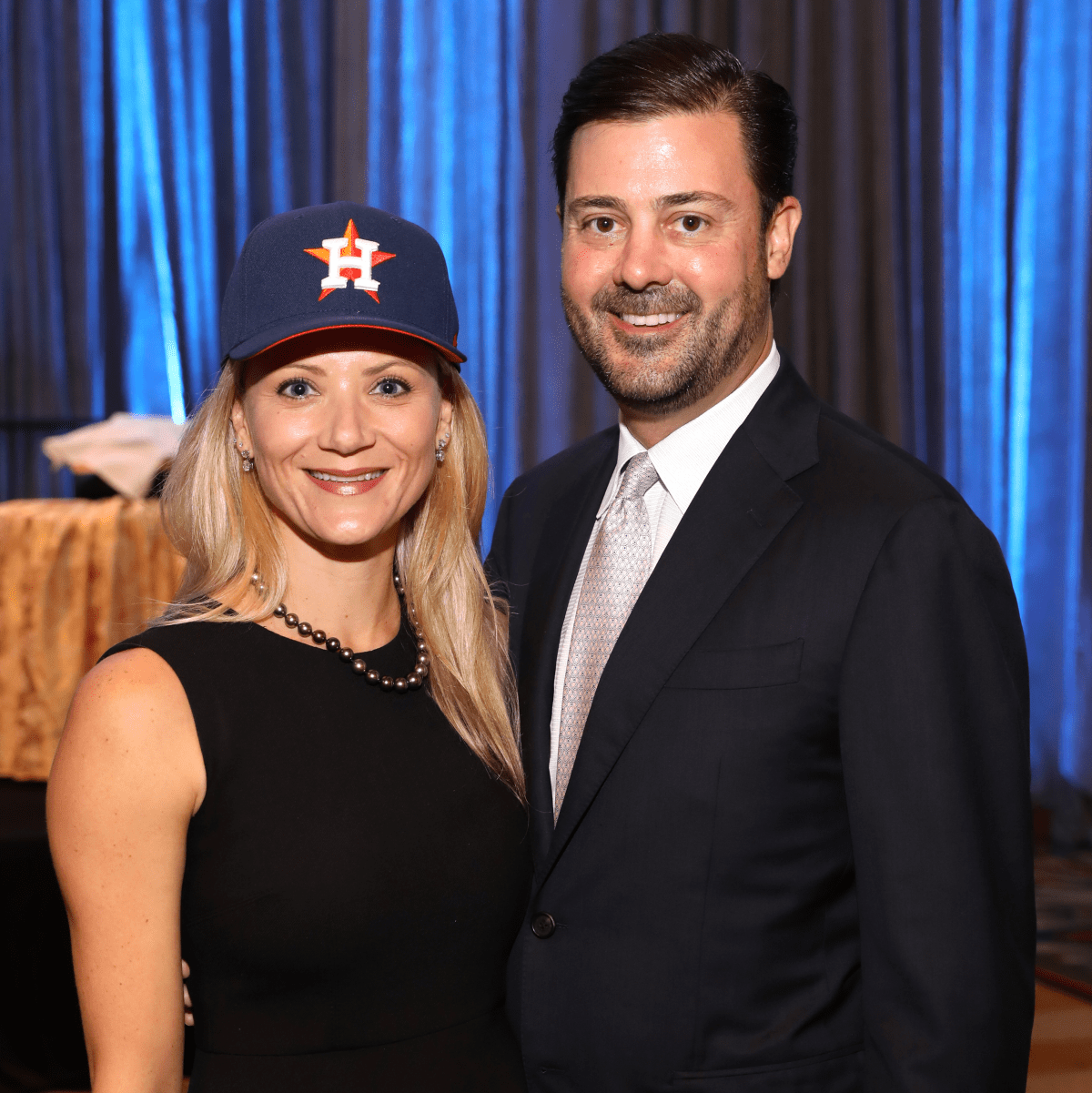 Houston, University of Texas at Austin Guardian of the Human Spirit Award Luncheon, November 2017, Stephanie Cockrell, Ernie Cockrell Jr.