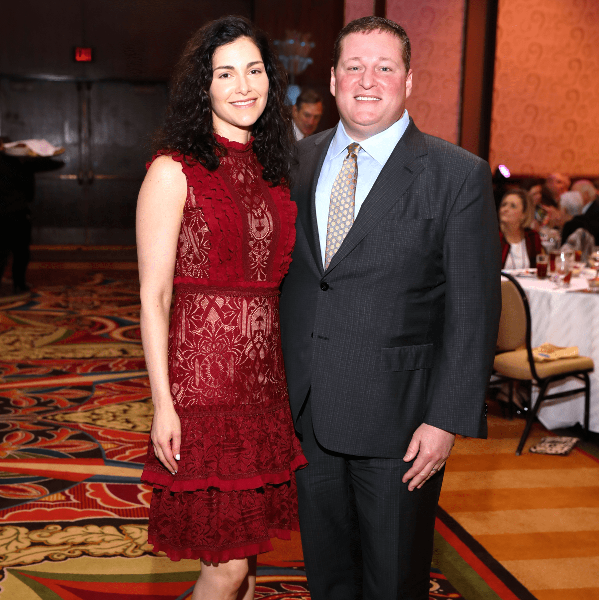 Houston, University of Texas at Austin Guardian of the Human Spirit Award Luncheon, November 2017, Limor Smith, Stuart Smith