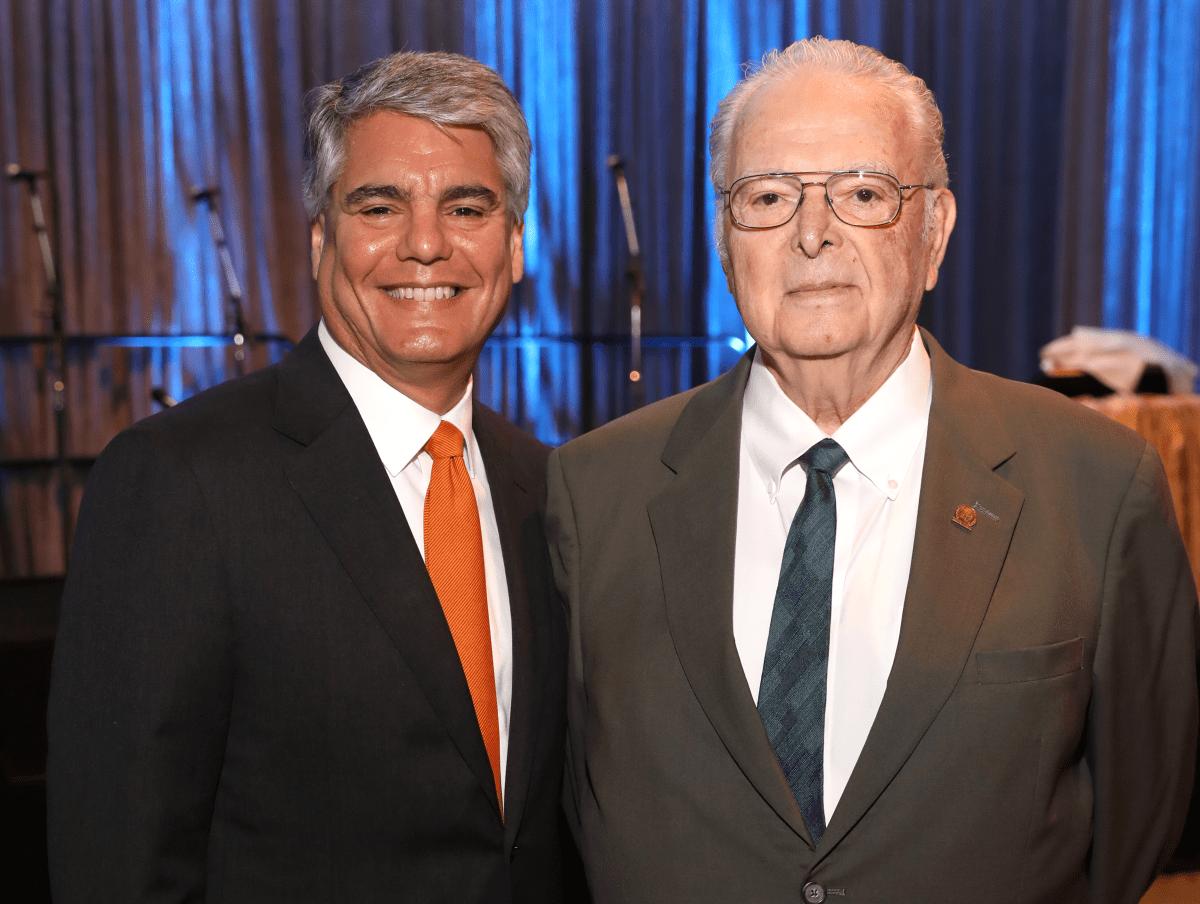 Houston, Gregory L. Fenves, Steven Fenves, November 2017
