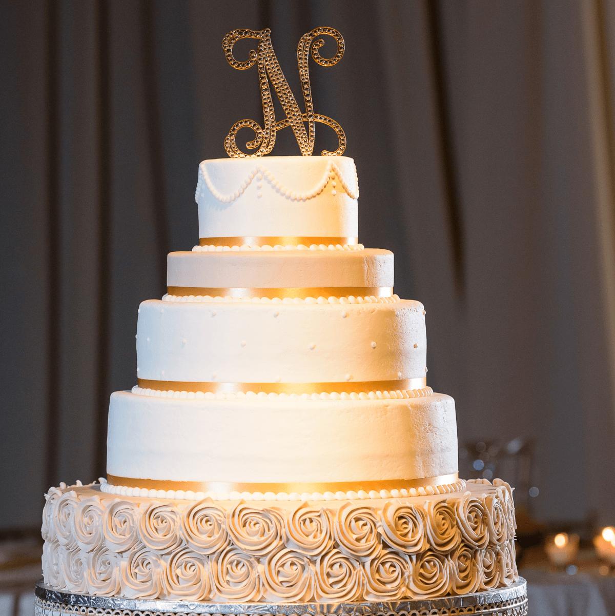Neely wedding, cake
