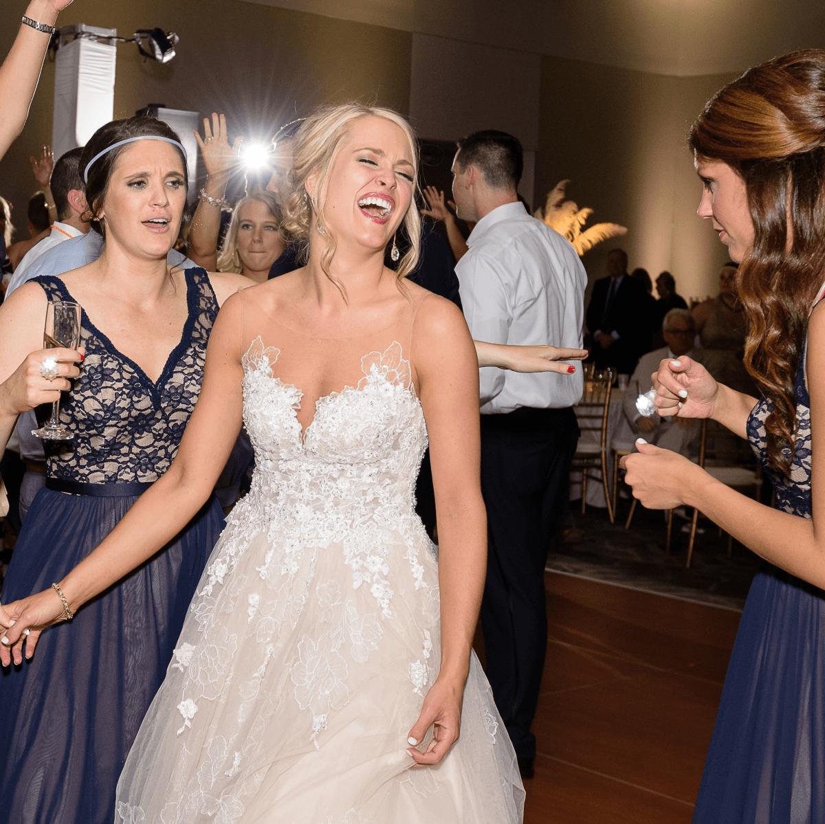 Neely wedding, dancing