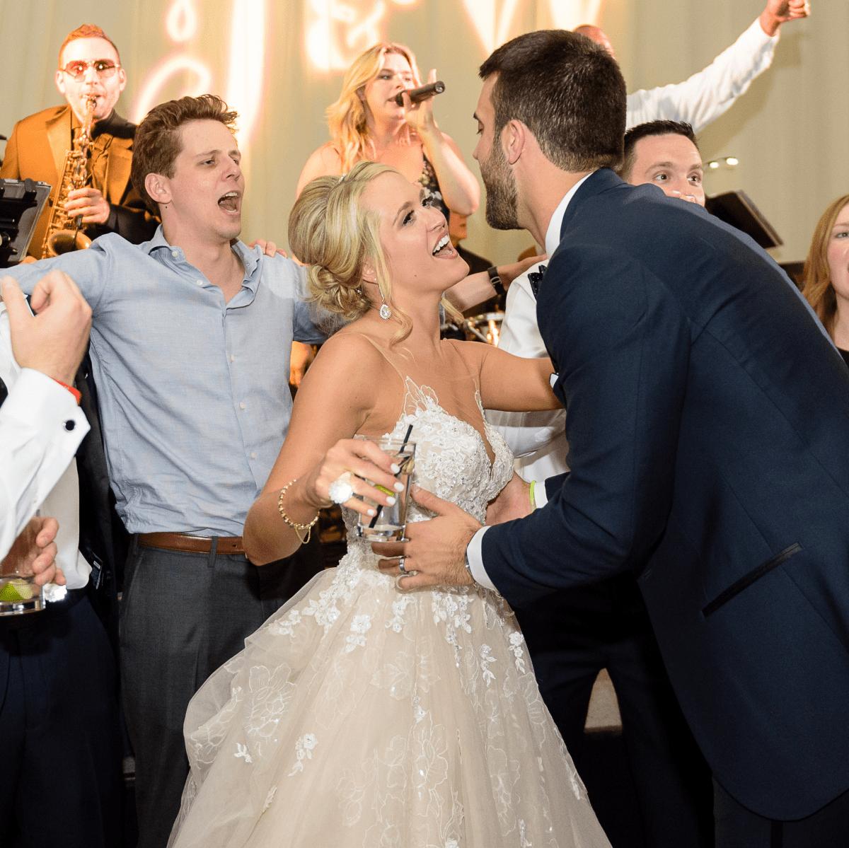 Neely wedding, dance floor