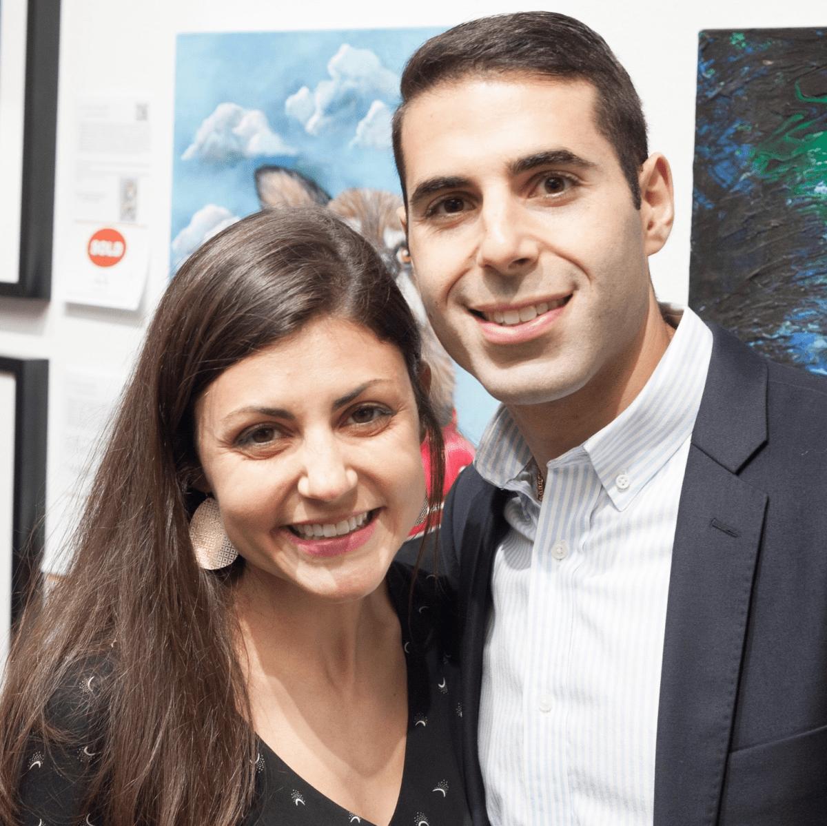 Art on the Avenue 2017 Joy and Andrew Hannah