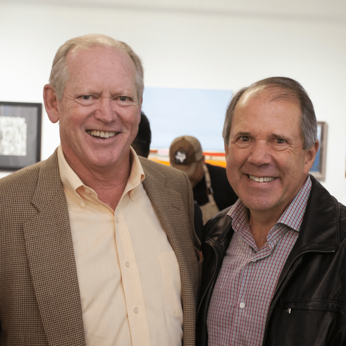Jack Sweeney and Ric Campo at Art on the Avenue 2017