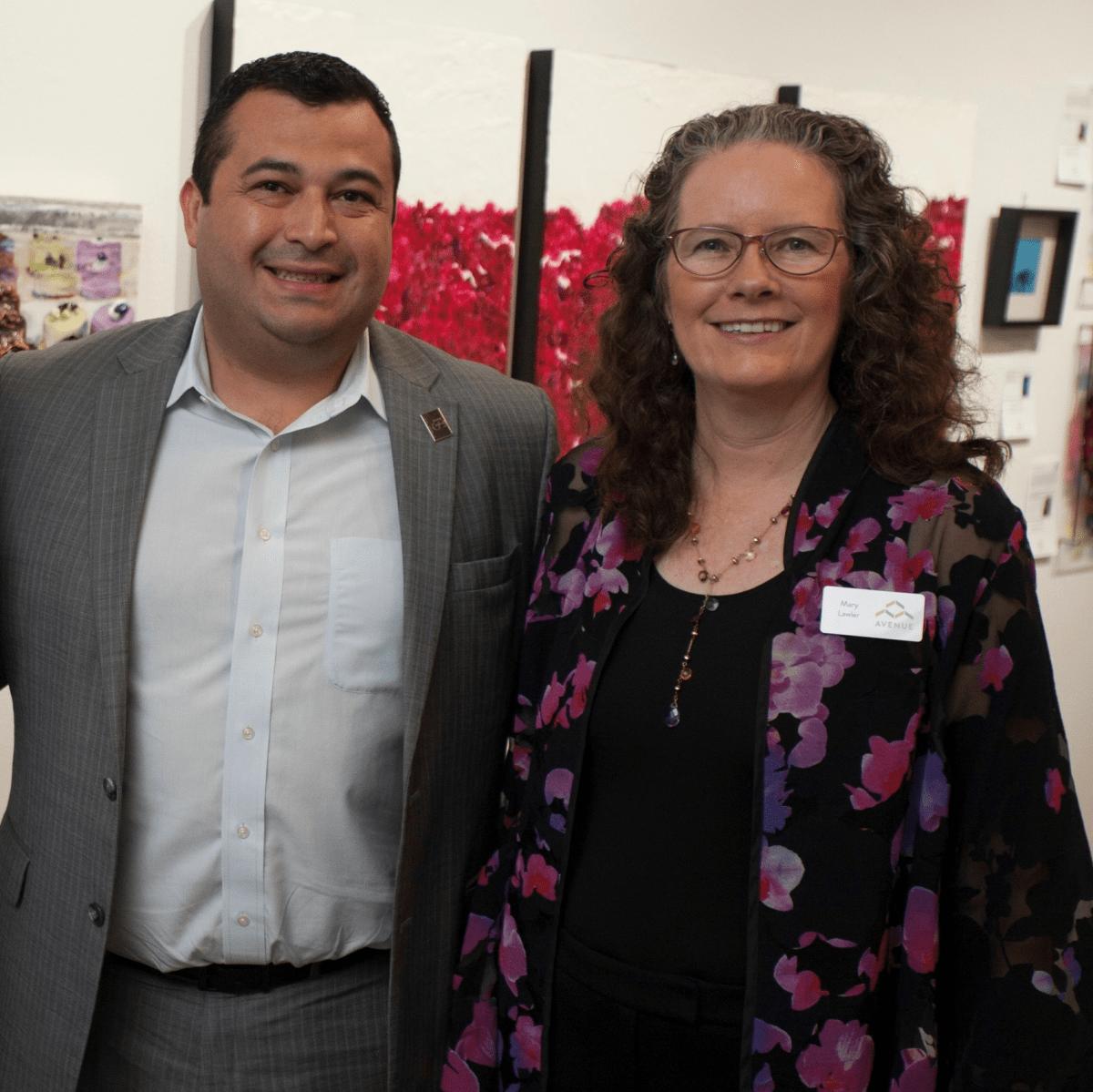 Art on the Avenue 2017, Stephen (Jamie) Bryant, Juan Flores, Mary Lawler