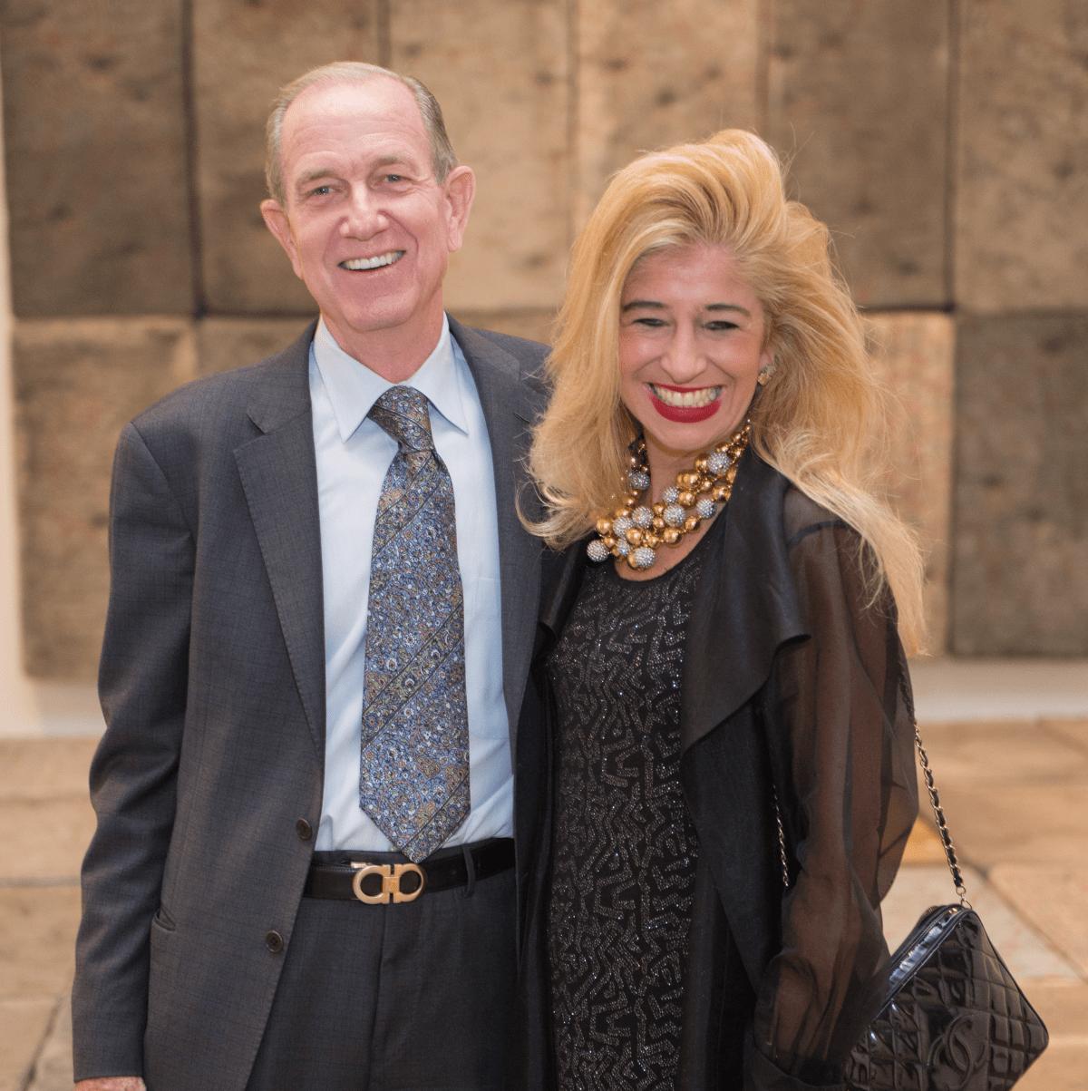 Houston, MFAH HOME Opening Dinner, November 2017, Brad Bucher, Sofia Adrogue