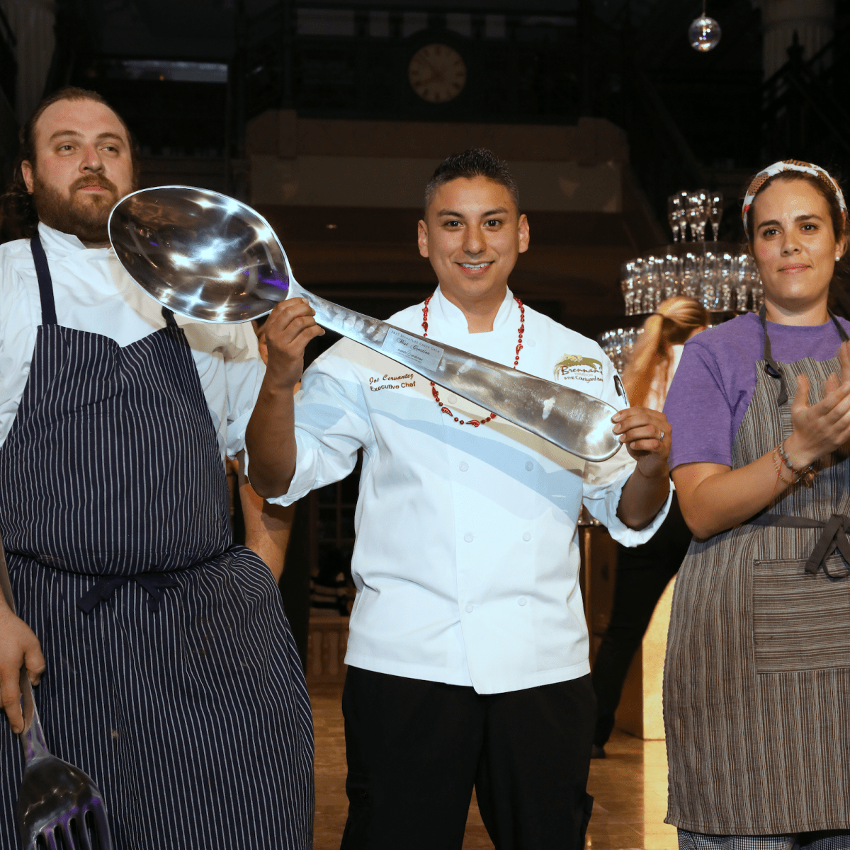 Houston, March of Dimes Signature Chefs, November 2017, executive chef Joe Cervantez of Brennan's