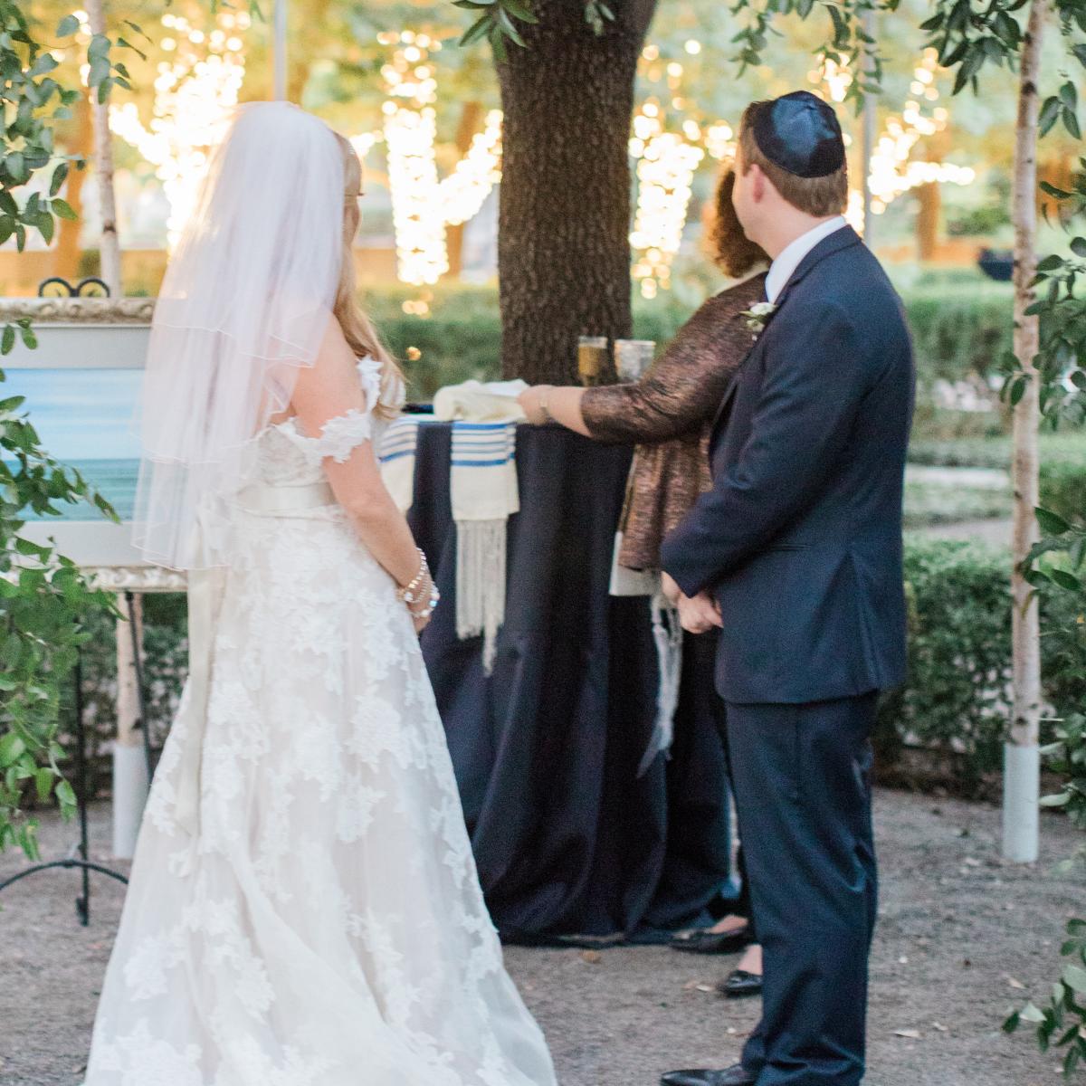 Kranz Wedding, chuppah