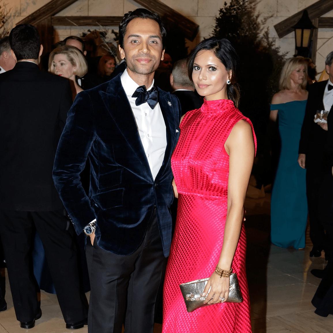 Nimesh Patel, Bina Patel, Crystal Charity Ball 2017
