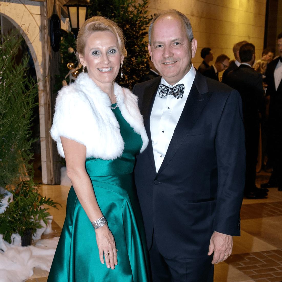 Deborah Michel, David Michel, Crystal Charity 2017
